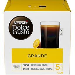 Dolce Gusto - Capsules de café Grande