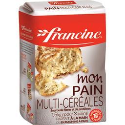 Francine Francine Mon Pain Multi-céréales le paquet de 1,5 kg
