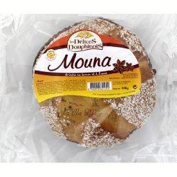 Mouna, brioche au levain et à l'anis