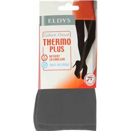 Collant chaud Thermo Plus T 3/4 gris