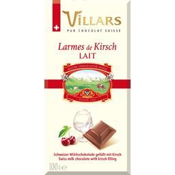 Chocolat lait larmes de Kirsch