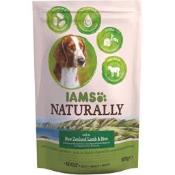 Naturally - Croquettes agneau riz pour chiens adultes