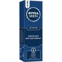 Nivea Nivea Men Soin de nuit anti-âge complet le tube de 50 ml