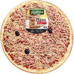 Réghalal Pizza jambon de dinde emmental halal la pizza de 450 g