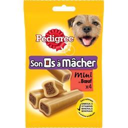 Jumbone - Mini os à mâcher au bœuf pour chiens