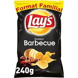 Lay's Lay's Chips saveur barbecue le paquet de 240 g