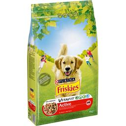Croquettes Vitafit Active au bœuf pour chiens