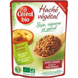 Céréal Bio Céréal Bio Haché végétal soja, oignons et persil BIO le sachet de 250 g