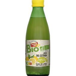 Bouton d'Or Jus de citron BIO la bouteille de 25 cl