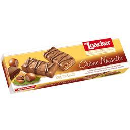Biscuits crème noisette/chocolat lait et éclats noisettes