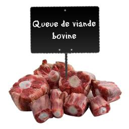 Queue de VIANDE BOVINE