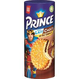Prince - Biscuits goût lait choco au blé complet