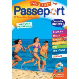 Passeport de la 3ème à la 2de - nouveaux programmes