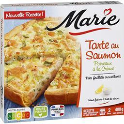 Marie Marie Tarte au saumon poireaux à la crème la boite de 400 g
