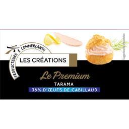 Les Créations Capitaine Cook Le Premium Tarama 38% d'œufs de cabillaud le pot de 180 g