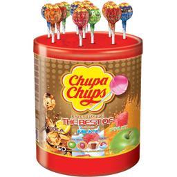 Chupa Chups Sucettes The Best Of la boite de 600 g