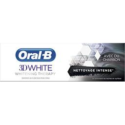 Oral B Oral-B Dentifrice 3d white whitening therapy nettoyage intense Le tube de 75ml