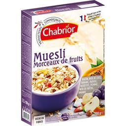 Muesli Classic morceaux de fruits