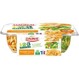 1.2.3 salade - Salade poulet curry sauce bulgare