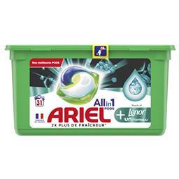Ariel Ariel All in1 pods, lessive en capsules avec une touche de lenor La boîte de 31 lavages
