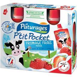 P'tit Pocket - Fromage frais fraise