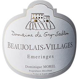 Beaujolais Villages Emeringes - Domaine De Gry Sablon vin Rouge 2017