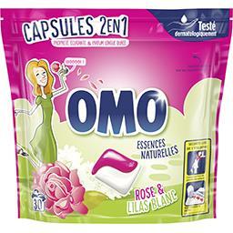 Omo Omo Capsules de lessive Fleurs des Tropiques & Magnolia le boite de 30 capsules - 723 g