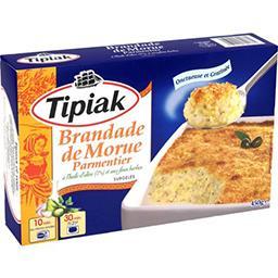 Tipiak Tipiak Brandade de morue parmentier la boite de 450 g