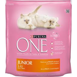 One - Croquettes Bifensis poulet pour chats Junior 1...