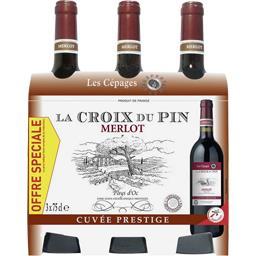 Vin de pays d'Oc - Merlot - La Croix du Pin, vin rouge