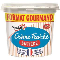 Crème fraîche entière