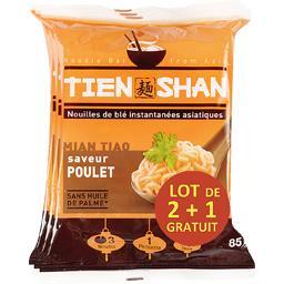 Nouilles asiatiques saveur poulet doux