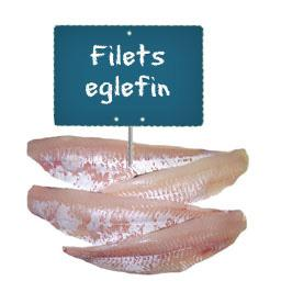 Filet EGLEFIN, La portion à la demande à partir de 300gr  environ