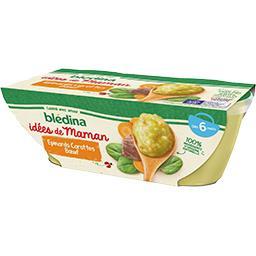 Les Idées de Maman - Epinards carottes bœuf, de 12 à...