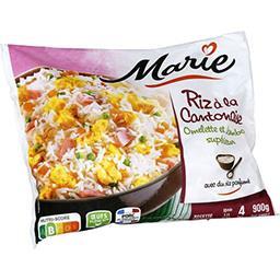 Marie Marie Riz à la cantonaise omelette et jambon supérieur le sachet de 900 g