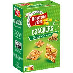 Crackers gouda & graines
