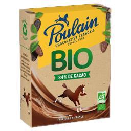 Poulain Poulain BIO - Chocolat en poudre BIO la boite de 350 g