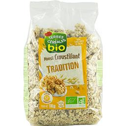 Muesli croustillant Tradition BIO
