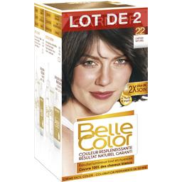 Belle Color châtain naturel, coloration permanente