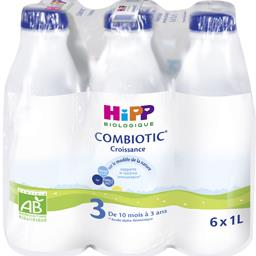 Combiotic - Lait bébé liquide 3 BIO, de 10 mois à 3 ...