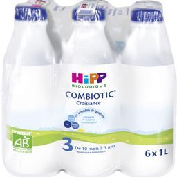 Combiotic - Lait de suite liquide BIO 3, de 10 mois ...