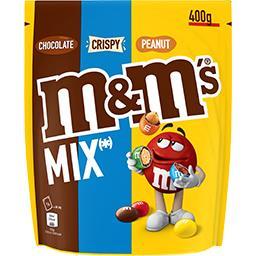 Mélange de bonbons Mix Peanut, Chocolat et Crispy