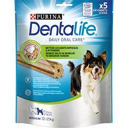 Purina One Purina Bâtonnets Dentalife pour chien Medium 12-25 kg le sachet de 115 g
