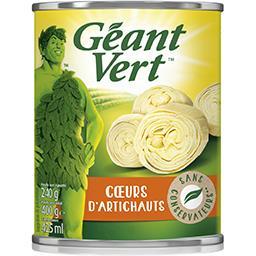 Géant Vert Géant Vert Cœurs d'artichauts la boite de 240 g net égoutté