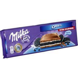 Chocolat au lait fourré Oreo
