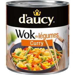 Wok de légumes curry
