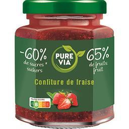 Pure Via Pure Via Confiture de fraise le pot de 300 g