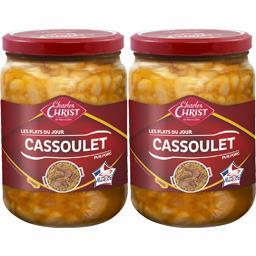 Cassoulet cuisiné aux haricots lingots