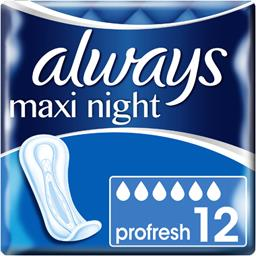 Maxi night - profresh - serviettes hygiéniques