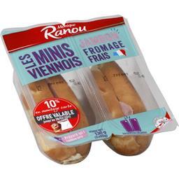 Les Minis Viennois - Sandwichs jambon fromage frais